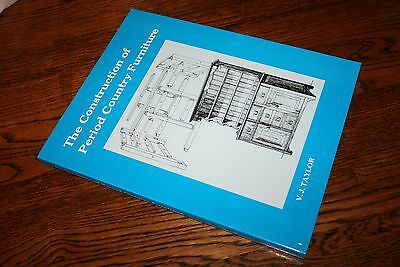 The Construction of Period Country Furniture V.J. Taylor woodworking designs