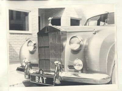 1958 ? Rolls Royce Silver Cloud I Front View ORIGINAL Photograph wy5790