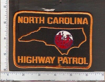 for sale1 vintage police shoulder patch, North Carolina State Police.(Ver.1)