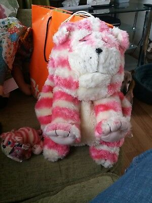 "Bagpuss 18"" Pyjama / Hot Water Bottle Case / Cover and small bagpus with tag"