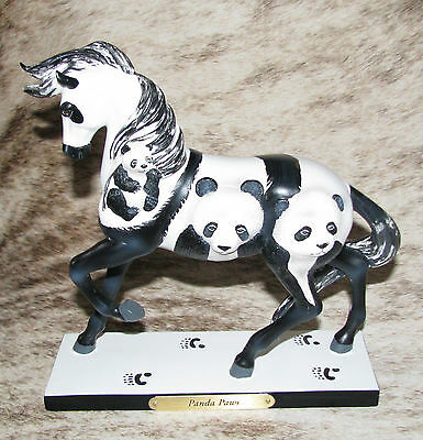 TRAIL OF PAINTED PONIES Panda Paws 1E/1873~Endangered Species~Gentle, Shy, Rare~