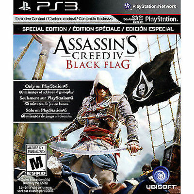 Assassin's Creed IV: Black Flag - Special Edition New & Factory Sealed Sony PS3