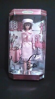 Barbie Fashion Luncheon Reproduction Doll In Sealed Box Limited Edition 17382