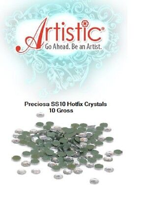 Genuine Preciosa Hotfix Crystals ss10 (3mm) - 144pcs by Artistic for Janome