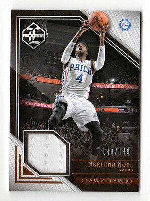 NERLENS NOEL NBA 2015-16 LIMITED GLASS CLEANERS MATERIALS #/149 ( 76ers)