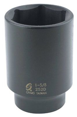 Sunex 252D 1/2-Inch Drive by 1-5/8-Inch Deep Impact Socket New