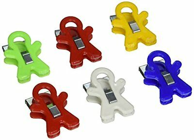 Adams 3303-50-0569 People Shaped Magnet Clip, Assorted Colors New