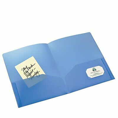 AVE47811 - Avery Translucent Two-Pocket Folder New