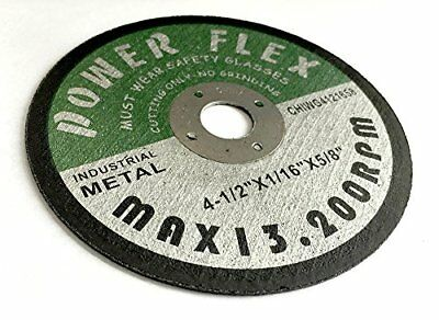 "50 NEW 4.5"" Inch Cut Off Wheel Disc 1/16"" X 5/8"" Hub for Angle Grinder New"
