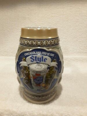 Old Style Beer Stein 1983 Ceramarte Numbered Chicago Collector Limited Edition !