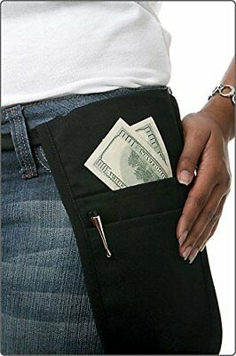 Fame Black Money Pouch New
