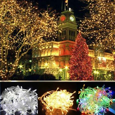 2-10 M Battery Powered Copper Wire String Fairy Xmas Party Lights Warm White #B