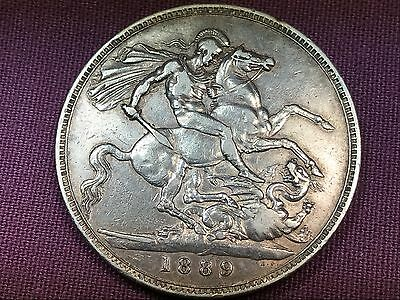 T2: World Coin Great Britain 1889 Crown