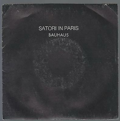 Bauhaus Disco 45 Giri Satori In Paris - New Rose Records New 12 - Peter Murphy