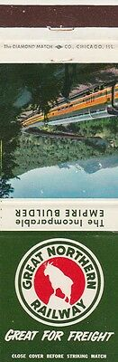 Great Northern Railway Matchbook Cover.