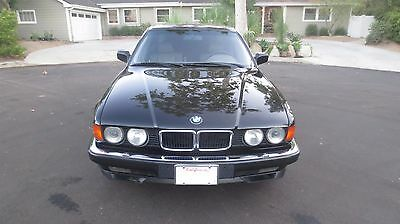 1994 BMW 7-Series  1994 BMW 740iL E32 MINT CALIFORNIA CAR 2 OWNER, FULL SERVICE HISTORY, NO RESERVE