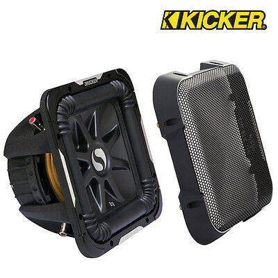 """Kicker GL780 8"""" Solobaric Subwoofer Grill Grille Speaker Cover"""