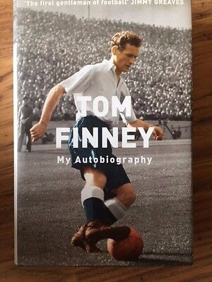 TOM FINNEY - My Autobiography Signed / Autographed book - Preston & England