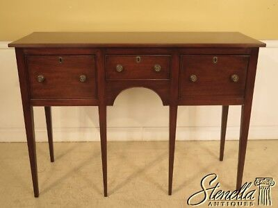 L23489E: KITTINGER Colonial Williamsburg CW-87 Mahogany Sideboard