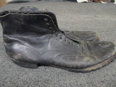 Vintage Style Stacy Adams Cap Toe Work Boot Or High Top Shoe Size 12Ee Used