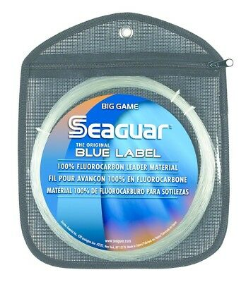 Seaguar 180FC30 Blue Label Flourocarbon Leader Big Game 180Lb Fishing Line