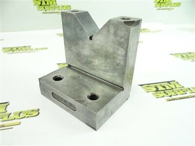 "Precision Combination V Block Right Angle 1-15/16"" V Capacity"