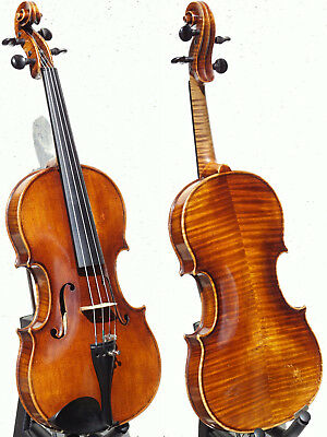 "Superb ANTIQUE VIOLIN labelled ""Joh.Paul Worle, Pressburg"". OUTSTANDING TONE!!!"