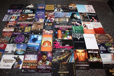 Huge Lot 50 Las Vegas Advertising Hotel Room Key Cards For Collection Only (A)