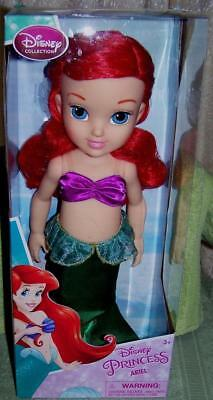 """Disney Collection The Little Mermaid Princess ARIEL 15.5"""" Doll New"""