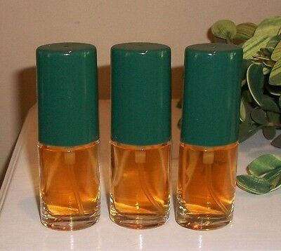 Lot of 3 Vintage Vanilla Fields Cologne Spray .375 oz each