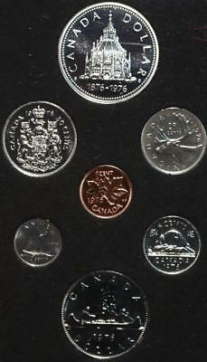 Uncirculated 1976 Canada Silver Proof Set Free S/H