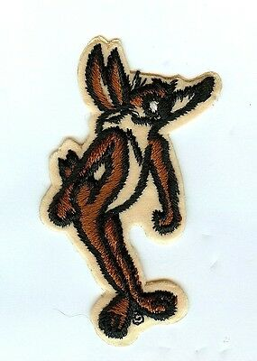 Looney Tunes Wile E Coyote Patch. MINT. Warner Bros. Fast Shipping