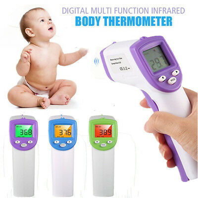 LCD Digital Non-contact Safety IR Infrared Thermometer Forehead Baby Temperature