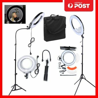 Studio Pro 40W 5400K Daylight Fluorescent Ring Light w/ 90cm Stand 220V OZ XT
