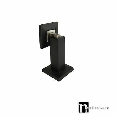 Black Square Magnetic Door Stop (1134MB)