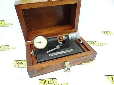 "Brown And Sharpe Precision Bench Micrometer .0001"" W/ Case"