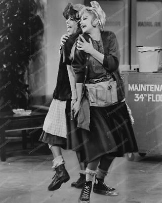 Carol Burnett and Lucille Ball 8x10 Reprint Of Old Photo