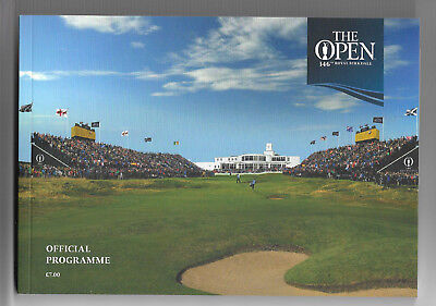 2017 British Open Golf Championship (ROYAL BIRKDALE) Official Programme