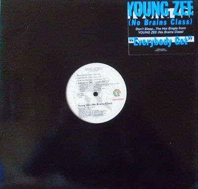 "YOUNG ZEE - Everybody Get ~ 12"" Single US PRESS PROMO"