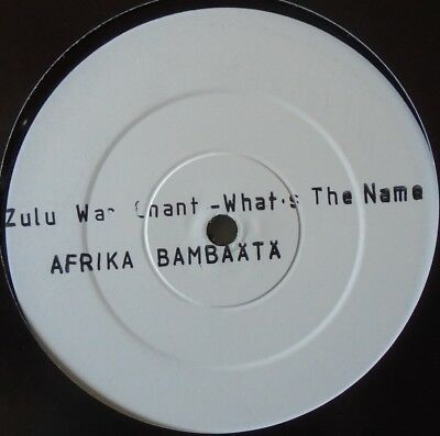 """TIME ZONE - Whats The Name Of This Nation.... Zulu ~ 12"""" Single TEST PRESS"""