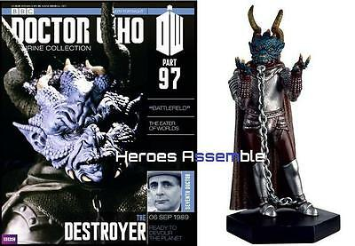 Doctor Who Figurine Collection #97 The Destroyer Eaglemoss New (95 96)