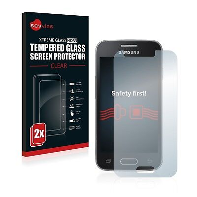2x TEMPERED GLASS SCREEN PROTECTOR for Samsung Galaxy Trend II Lite