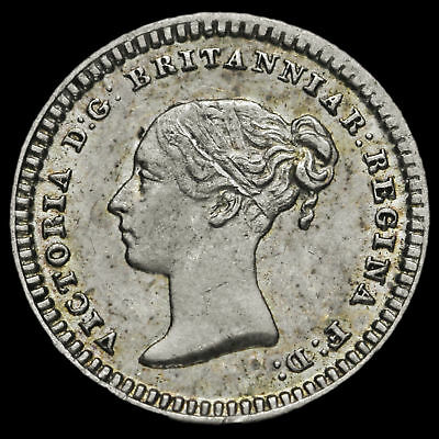 1839 Queen Victoria Young Head Silver Three-Halfpence