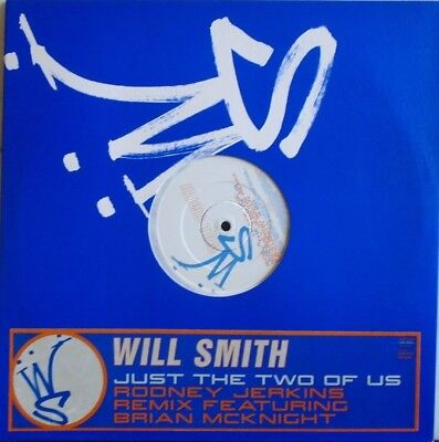 """WILL SMITH ~ Just The Two Of Us ~ 12"""" Single PS PROMO"""