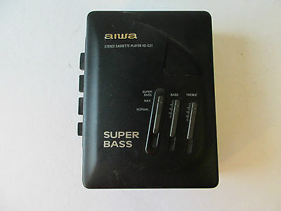 vintage: AIWA stereo cassette player hs-g21