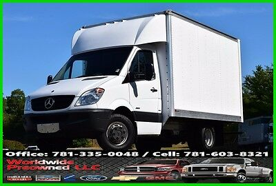2012 Mercedes-Benz 3500 12ft Box Delivery Van Truck 3.0L Diesel Cube Side Door