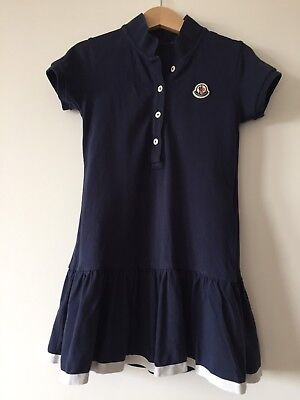 Moncler Girls Dress Age 5 Years