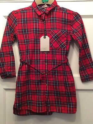 Bnwt Girls Shirt Dress From Zara For Age 7 Years
