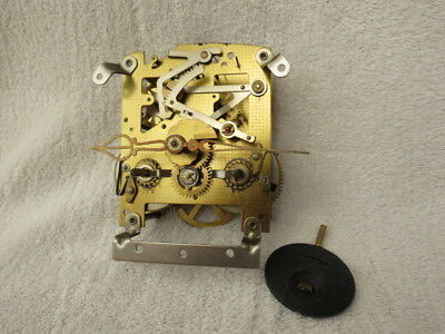 Vintage Smiths Enfield Striking Clock Movement, Hands And Pendulum (Lot A)