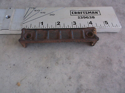 Cast Iron Rim Lock Door Strike Plate Catch Keeper